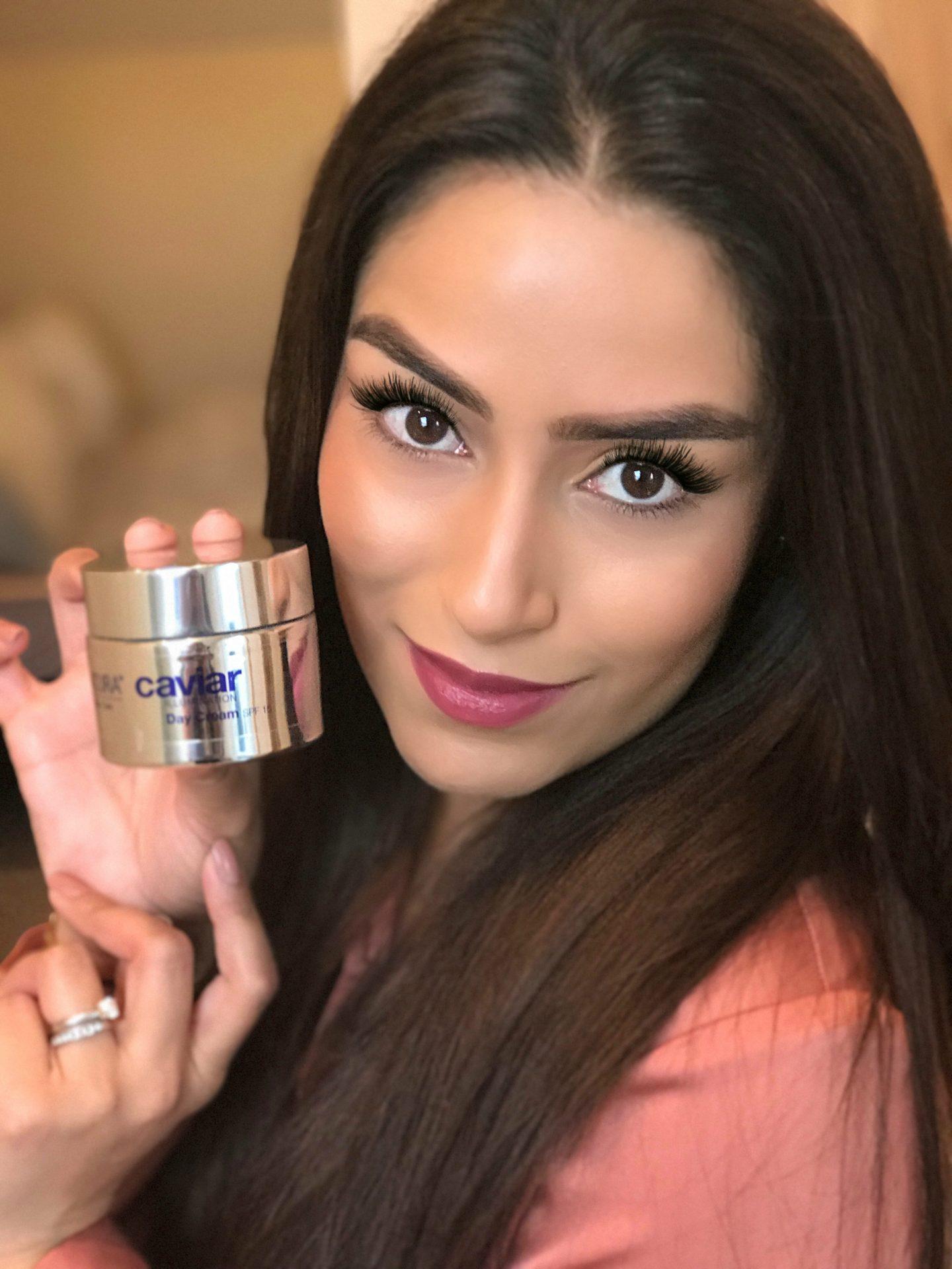 Affordable caviar face cream