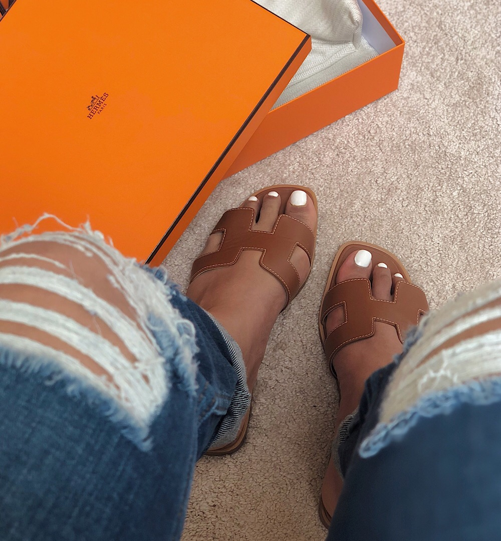 Hermés Oran Sandals